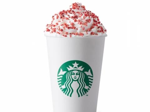 冬日限定草莓紅絲絨朱古力咖啡,細杯$37。