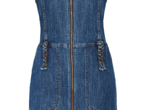 Denim Mini Dress HK$2,075 (SEE BY CHLOÉ)