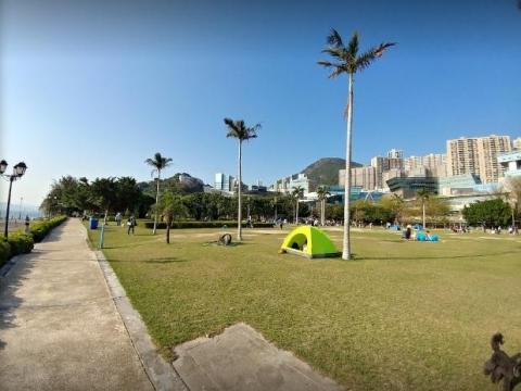 數碼港海濱公園