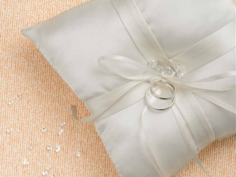 水晶戒指枕