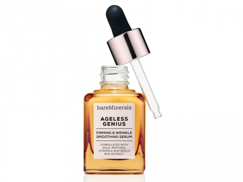 bareMinerals Ageless Genius Firming & Wrinkle Smoothing Serum 黃金修復緊緻精華  HK$560/30ml