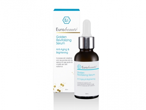Eurobeauté Golden Revitalizing Serum 炫金緊緻膠原活膚精華  HK$450/30ml