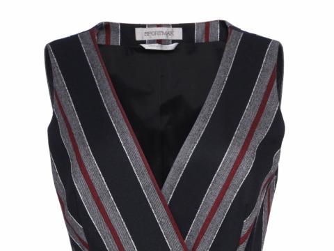 Sportmax stripes suit top $7,080