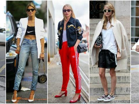 街頭型人sport luxe穿法,簡單好看。