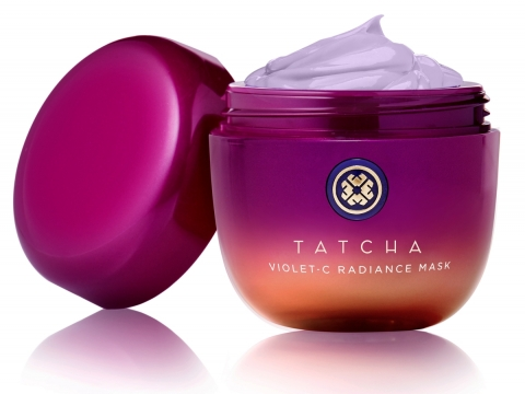 TATCHA Violet-C Radiance Mask(HK$570/50ml)紫魅鑽光煥肌面膜質地豐盈,蘊含抗衰老及亮白肌膚的七種水果萃取及高效抗氧化的日本紫珠,用後皮膚有效回復淨白透亮。
