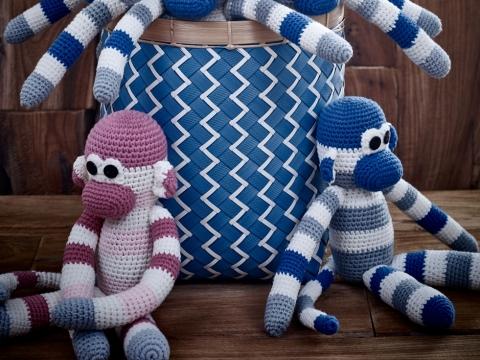 紗線猴子玩偶 $325
