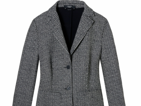 Weekend Max mara grey wool blazer $4,580