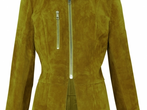 Whistles olive anya clean suede jacket $6,805