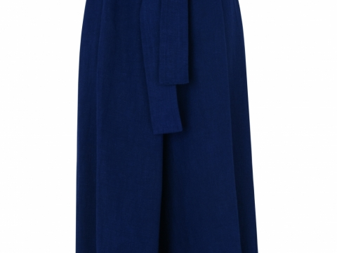 Whistles navy tilda wrap paper bag weight trouser $1,775
