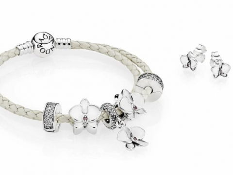 PANDORA White Orchid Collection 2017 HK$399 up