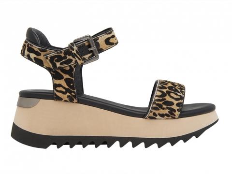 動物紋搭帶涼鞋(斑馬紋/豹紋) $1,199