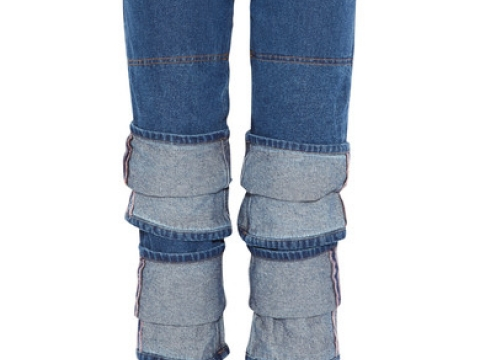 Layered High-rise Straight-leg JeansHK$3,480 (YPROJECT)