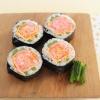 向日本主婦偷師!三文魚櫻花太卷壽司