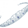 TIFFANY & CO. Diamond & Montana sapphire tiara (price upon request)
