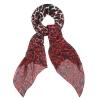 McQ Alexander McQueen 紅色豹紋絲巾 $2,799