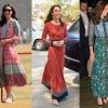 學凱特王妃著民族花裙