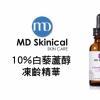 MD Skinical 10%白藜蘆醇凍齡精華得獎名單